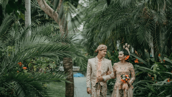 attractive Indonesian couple
