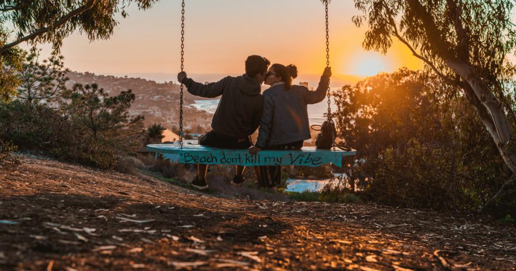 Malaysian couple in swing